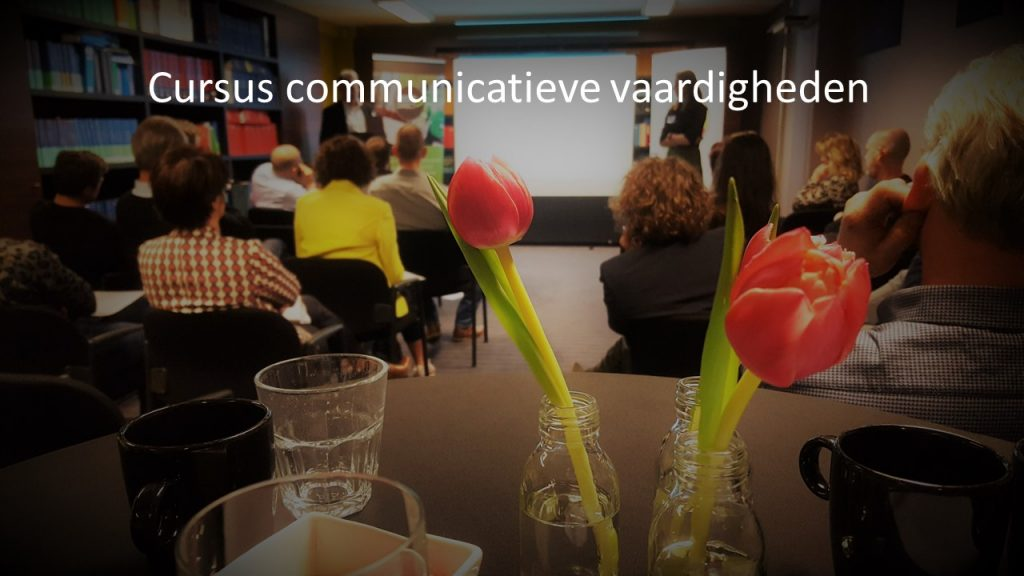 H4 Cursus Workshop Communicatieve vaardigheden